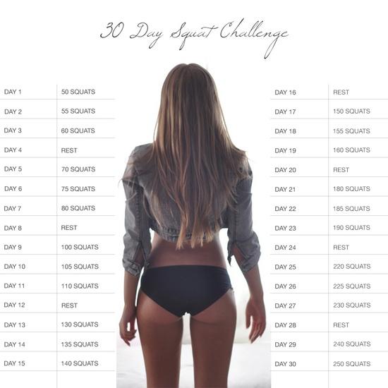 Legs Workout Challenge